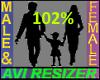 102% Tall