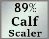 89% Calves Calf Scale MA