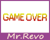 GAME OVER sign 1D