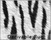 White Tiger Rug Pattern
