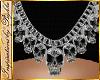 I~Diam. Skull Necklace