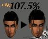 <N> Head Scaler 107.5 %