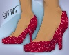 Red Liaison Spike Heel P