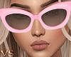 {VS} Pink Sunglasses