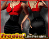 [Free] Midi Red Black