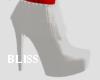 White tassel boot