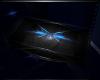 Blue Black Side Table