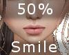 50% Smile F A