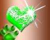 ♥Green hearts
