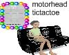 Motorhead Tic Tac Toe