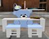 Blue Boy Desk