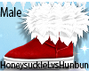 Male Xmas Fur Boots