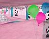 Panda Birthday Room