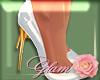[G]Holly Heels White