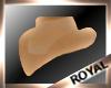 GOLDEN COWBOY HAT