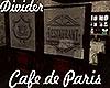 [M[ Cafe Paris Divider