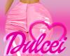 Pink PVC Pants RLL