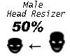 Head Resizer Avatar 50%