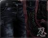 忍 Hacker Jeans+Boots