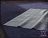 ❣ Wrinkled white rug