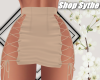 Sy | Tied Skirt | Tan