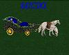 castle  horse carriage