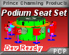 PCP~Podium Seat Set