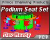 PCP~Podium Seat Set