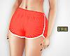! Coral Runner Shorts