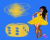 (DD) sexy grl yellow
