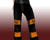 Orange Toxic Raver Pants