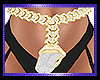 Gold Diamond Belly chain