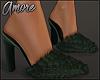 $ Fur Pointy Heels