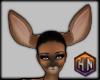 deer ears brown furry