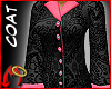 [m]Coat Black/Pink