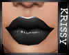 Kriss's Black lips