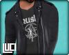 !L! Rush band tee -M