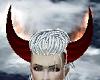 Dark Red Horns n Fire