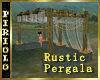 Rustic Pergala