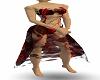 Phantom Red Blood Dress
