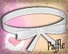 P| Bow Collar White