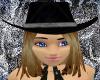 Midnight Cowgirl Hat DB1