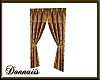Elegant Gold Drapes