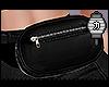 か☯ Black fanny pack