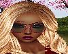 Red Glitter Sunglasses
