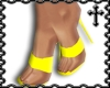 * Yellow Strap Heels V2