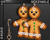 0 | Gingerbread Earrings