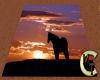 Wild Horse Sunset Rug
