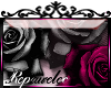 *R* Gothic Roses Sticker