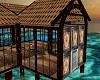 Cosy tropical rain hut